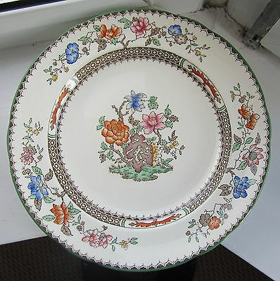 """Copeland Spode """"Chinese Rose"""" dinner plate 9""""  good to use"""