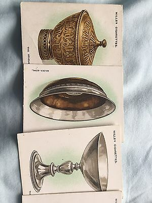 Old Silver (1924) Wills Cigarette Cards - Buy 2 & save