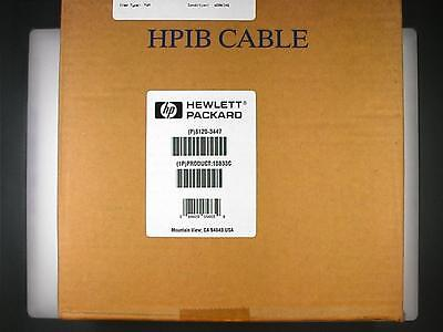4 New HP 10833C 4 meter HPIB / GPIB Cables. Four for one bid!