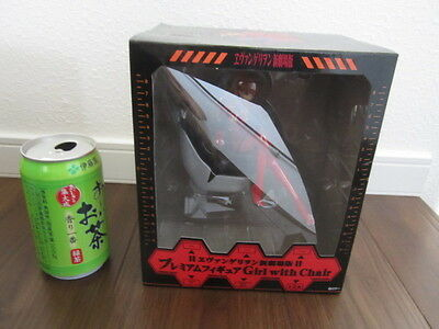 New Evangelion Premium Figure Girl with Chair Asuka Langley free shipping