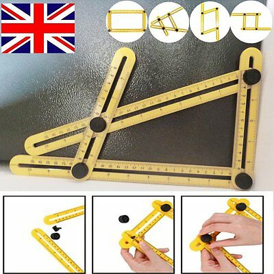 Multifunction Multi-Angle Ruler Template Tool for Measuring DIY Tools