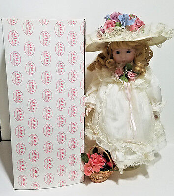 "Show Stoppers Florence Maranuk Christy Porcelian ""JOCELYN"" Doll 16"" Tall"