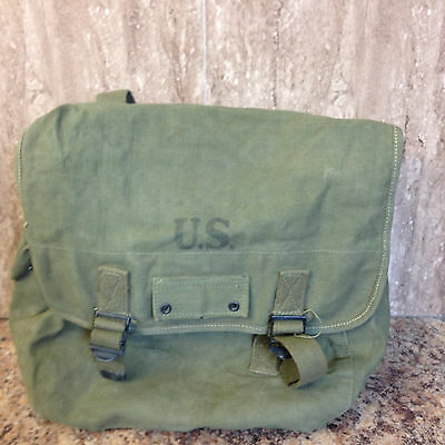 0Riginal Us Army: Musette Field Bag 1945.