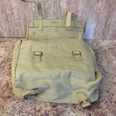 1941  Small Backpack Haversack British Wwii