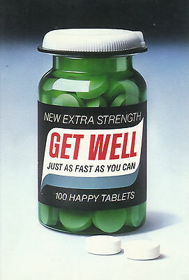 1981 Paper Moon Graphics - '100 Happy Tablets' Bottle Of Happy Tablets