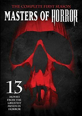 USED (GD) Masters of Horror: The Complete First Season (2016) (DVD)