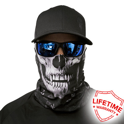 Raven Skull Face Shield Face Mask. Free Shipping In Canada! 20 New Styles!