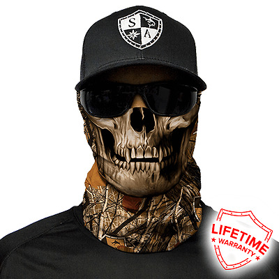 Forest Camo Skull Face Shield Mask. Free Shipping In Canada! 20 New Styles!