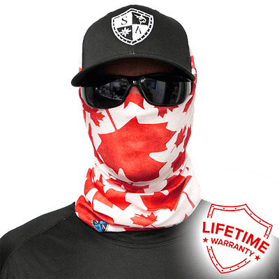 Canada Face Mask Face Shield. Free Shipping In Canada! 20 Different Styles!