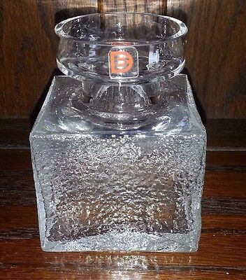 Vintage Dartington Textured Vase Frank Thrower Retro