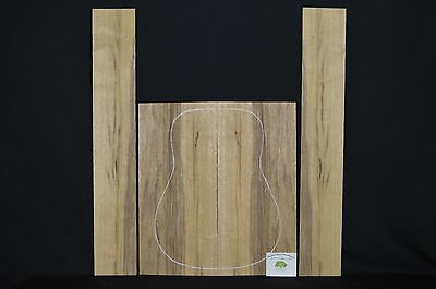 BLACK LIMBA Acoustic Guitar Back and Sides Luthier Wood Tonewood  BLAGD-003