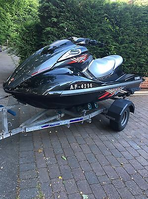 Yamaha FXSHO Jetski On Wide Wheel Trailer