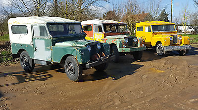 3 no. Land Rover Series One. Featured in Classic Land Rover Issue 49. VERY RARE!