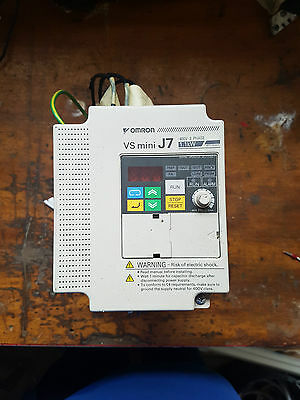 Omron variable speed controller