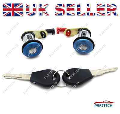 fits for Nissan Micra K11 1992-2003 Front Left & Right Door Lock Set with 2 Keys