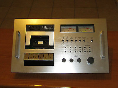 Nakamichi 600 2 head vintage cassette deck ( Reduced from 299.95 )