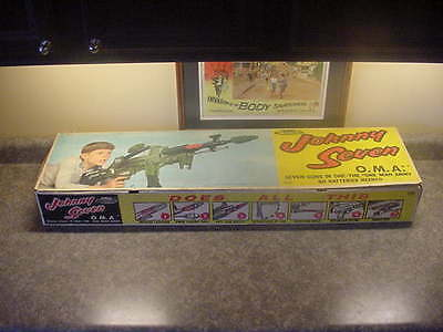 Johnny Seven Topper Toys Deluxe Reading 1964