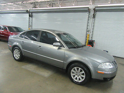 2003 Volkswagen Passat GLS LEATHER HEATED SEATS SUNROOF FLORIDA CAR RUST FREE NONSMOKER OWNED 60 PICTURES