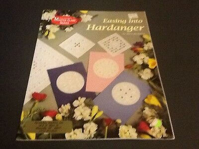 Easing Into Hardanger Pattern Booklet by Mary Hickmott
