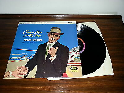 Frank Sinatra - Come Fly With Me capitol LP SLCT 6154