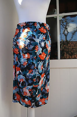 isabella oliver Maternity Skirt Tropical Floral NEW Viscose mix size 4 uk 14 M