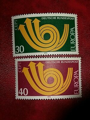 West German MNH Europa Cept 1973 Stamps
