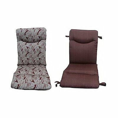 NEW Courtyard Creations PAS311G-TB Thick Universal Reversible Chair Cushion