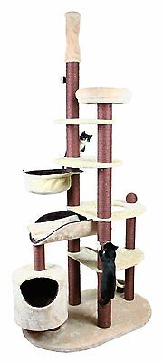 Trixie 44571 Pet Products Nataniel Adjustable Cat Tree, Beige/Choc Brown $475