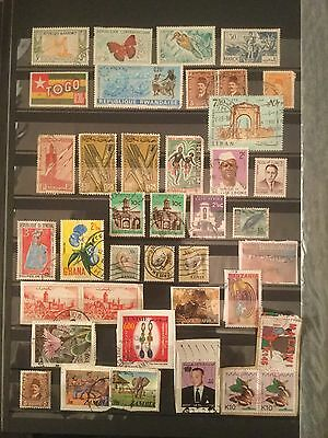 Mixed African Stamp Collection