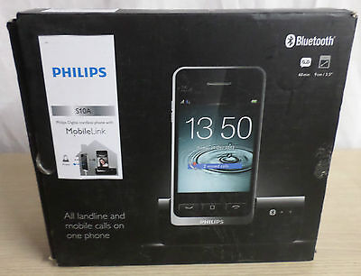 Philips S10A Cordless Phone with Answering Machine Bluetooth Hands Free (BL0081)