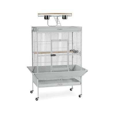 Prevue PP-3154W Select Parrot Cage Pewter - $879