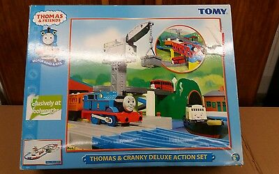 Thomas the tank engine Cranky Deluxe action set complete VGC