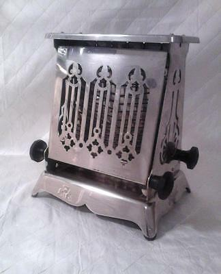 Antique Toaster c1910-1914 w/Cord Edison Elec Hot Point  Yes, It Works!