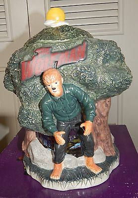 WOLF MAN Horror Movie Cookie Jar Collection Universal Studio's Monsters Mint