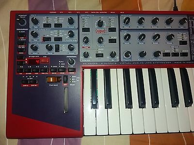 Nord lead 2X + delay dd400
