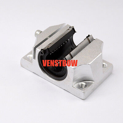1 pcs of TBR20UU 20mm Linear Ball Bearing Support Unit Solide Block unit FOR CNC
