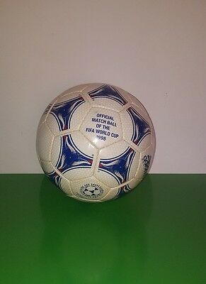 adidas official match ball fifa world cup 1998 made in pakistan eng in germany