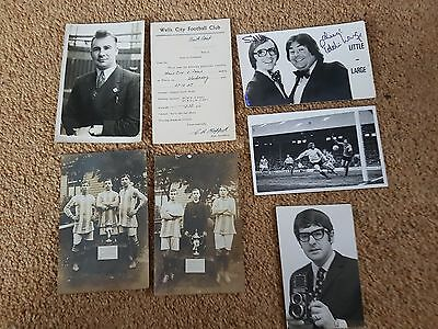 Collection Of Very Old Football Postcards Listed One Off Job Lot Price Hurry !!