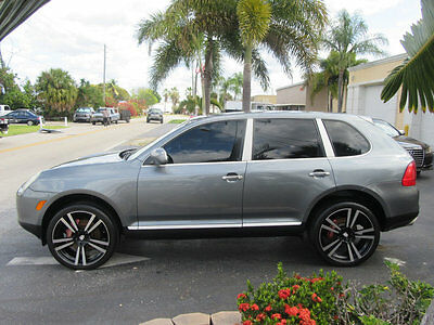 "2004 Porsche Cayenne S FLORIDA CAR 22"" TURBO WHEELS NONSMOKER ADULT OWNED AND BEAUTIFUL $8500 OBO !"