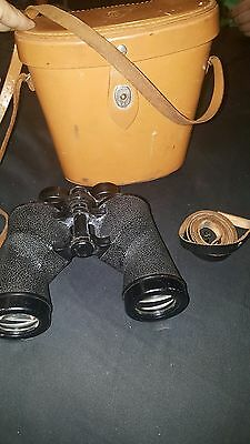 Antique Vintage 1953 Bausch and Lomb RARE 9x35 Zephyr binoculars made in the USA