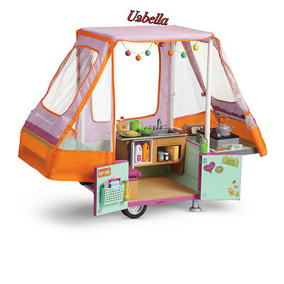American Girl Doll Adventure Pop-Up Camper New in box