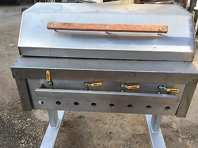 4 Burner Char Grill Gas Grill Asian Style