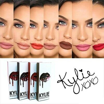 Original Kylie Jenner Lip Kit Lip Gloss Lipstick + Lip Liner ALL COLOR NEW