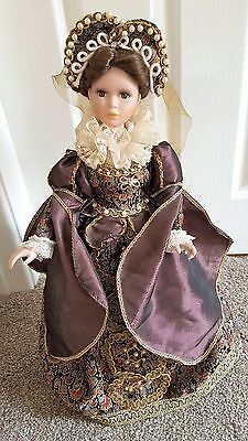"Regency Fine Arts The Queens Of Henry Viii "" Catherine Parr "" On Stand Boxed"