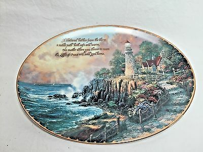 The Light of Peace Collector Plate by Thomas Kinkade, Bradford Exchange
