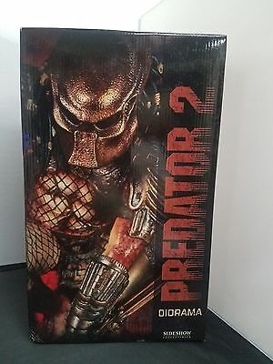 Sideshow Collectibles Predator 2 Diorama Statue Limited Edition #346 of 1500