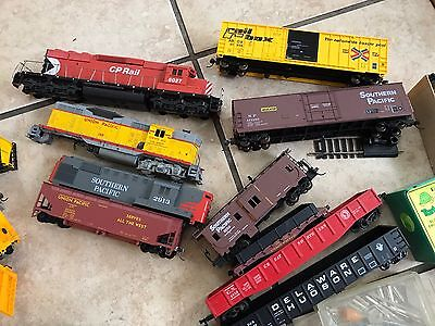 Train Lot/ Cp  Rail 6027/union Pacific 130/ Mixed Lot/ For Parts / Repair
