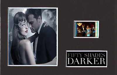 Fifty Shades Darker replica 35mm Mounted Film Cell Presentation Display 6 x 4