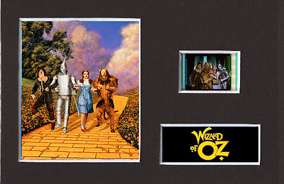 The Wizard Of Oz replica 35mm Mounted Film Cell Presentation 6 x 4