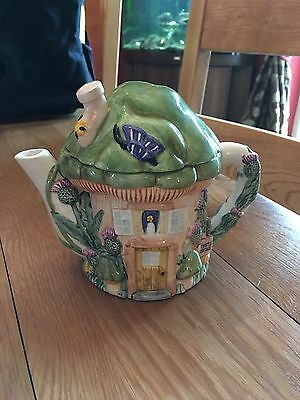 The Village Collectables Teapot by designer Annie Rowe